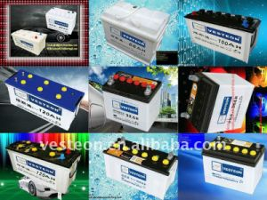 12V Auto Mf and Dry Charge Car Battery 75ah 100ah 150ah 200ah pictures & photos