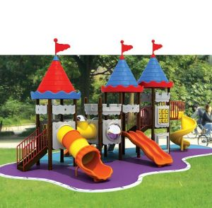 2014 New Style Outdoor Plastic Slide Playground for Kids pictures & photos