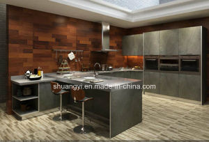 China Prefab Cheap Price Modern Design Kitchen Cabinet pictures & photos