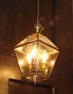 Copper Pendant Lamp with Glass Decorative 19017 Pendant Lighting pictures & photos