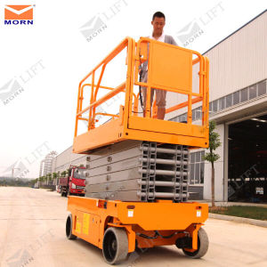 Mobile Electric Scissor Lift with Height 8m pictures & photos
