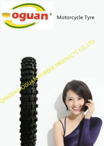 Anti-Skid Wear-Resistant Motorcycle Tire of 300-21 pictures & photos