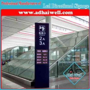 Airport Flight Information Display Signage Holder pictures & photos