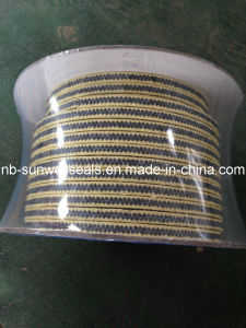 PTFE Graphite Packing with Aramid Fiber Corners pictures & photos
