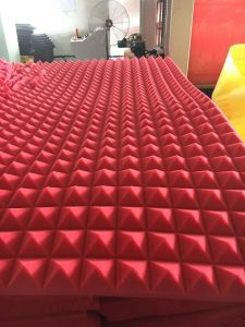 3D Wall Title Wall Cladding Decoration Panel Roof Panel Acoustic Foam Wall Panel pictures & photos