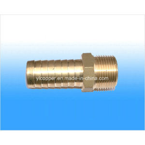 Brass Barb Hose Connector for Pipe Fittings pictures & photos