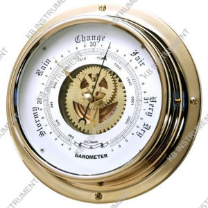 Nautical Barometer Brass Case Dial180mm pictures & photos
