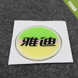 Wholesale Round Shape Transparent Epoxy Resin Sticker pictures & photos