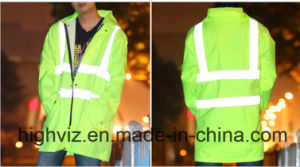 Reflective Safety Jacket with ANSI107 Certificate (C2446) pictures & photos