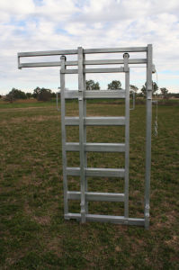 Cattle Equipment Sliding Panel Sliding Gate and Sliding Panel pictures & photos