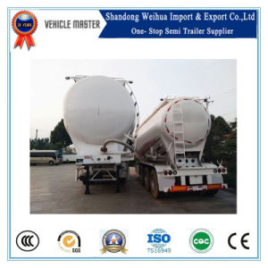 45m3 Bulk Cement Tanker Truck Trailer with Fuwa Axles pictures & photos