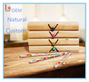 Custom Soft Wooden Bark Pencil Packaging Box pictures & photos