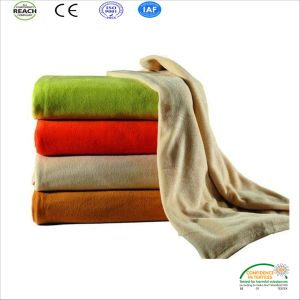 Pantone Color Soft Blankets for European Markets pictures & photos