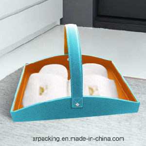 Rectangle Leather Tissue Box for Hotel/Office/Guestroom pictures & photos