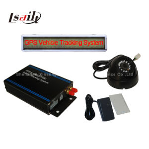 (HOT) Professionaltaxi Tracking Device with LED Ad Screen/Fuel Senor/Camera Snapshot pictures & photos