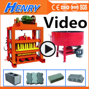 Qtj4-40 Concrete Hollow Block Machine Block Paver Machine Cement Brick Making Machine Price in India pictures & photos