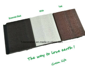 Mixed Color Capped Outdoor WPC Wall Cladding