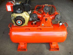 2.0HP 50L Gasoline Belt Driven Piston Portable Air Compressor pictures & photos
