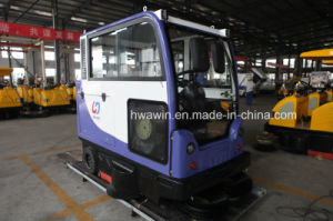 All Closed Electric Cabin Road and Street Sweeper Cleaning Machine pictures & photos
