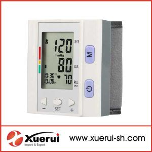 Wrist-Type Fully Electronic Blood Pressure Monitor pictures & photos