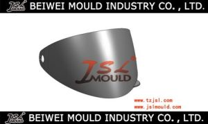 OEM Plastic Injection Motorcycle Helmet Visor Mold pictures & photos