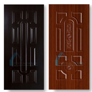 High Glossy Moulded HDF MDF Melamine Door Skin pictures & photos