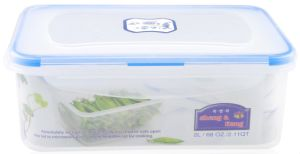 3PCS Rectangular Plastic Storage Bin pictures & photos