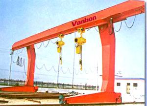Double Girder Gantry Lifting Crane pictures & photos