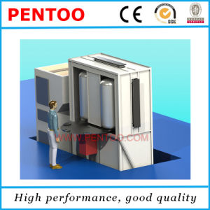 Enamel Powder Coating Booth for Water Heater pictures & photos