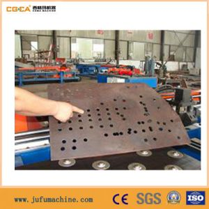 CNC Steel Plate Hydraulic Punching and Marking Machine pictures & photos