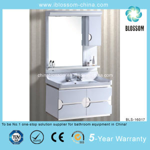 Economical Modern Bathroom Vanity Cabinet (BLS-16017) pictures & photos