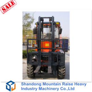 3m All Terrain Forklift 3 Tons Diesel Forklifts for Sale pictures & photos
