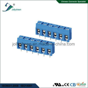 PCB Screw Terminal Blocks Pitch 7.5mm 6p 12A with blue Housing pictures & photos