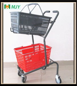 Japanese Basket Shopping Cart Mjy-J01 pictures & photos