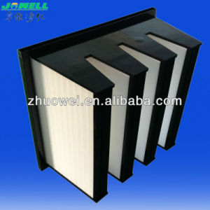 High Capacity V Bank HEPA Filter pictures & photos