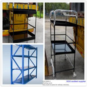 Powder Coated Metal Display Shelf Metal Rack pictures & photos