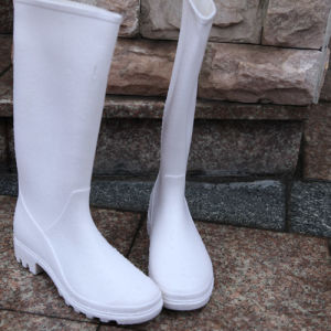 OEM Design Cheap Men′s Plastic Rain Boot pictures & photos
