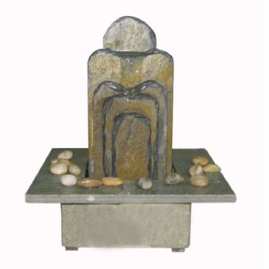 Stone Table Water Fountain for Home Decoration pictures & photos