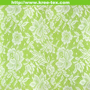 Nylon Non-Spandex Garment Dress Lace Trimming Nylon Knitted Lace Fabric