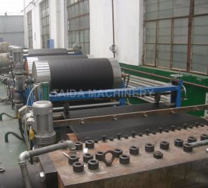 Cold Feed Rubber Extrusion Production Line Exhaust Extruder Machine Plant pictures & photos