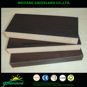 Smooth Finish Melamine MDF 1220X2440mm Furniture Usage pictures & photos