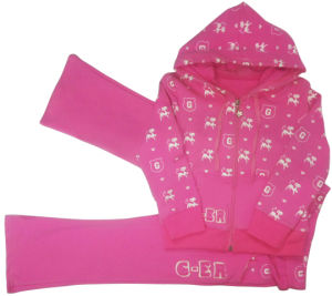 Girl Children′s Sports Suit in Kids Wear pictures & photos