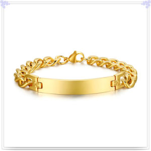 Stainless Steel Bracelet Fashion Jewelry ID Bracelet (HR158)