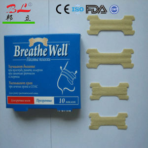 Nasal Strips-Stop Snore and Relive Nasal Better Breathe Nasal Strips pictures & photos
