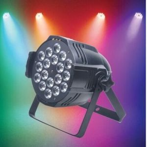 10PCS/ 18PCS 4 in 1 Full-Color Waterproof PAR Lamp for Club Party Lamp Discos Music Light pictures & photos