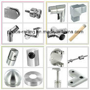 Handrail Accessories / Railing Fitting / Stainless Steel Base Plate pictures & photos