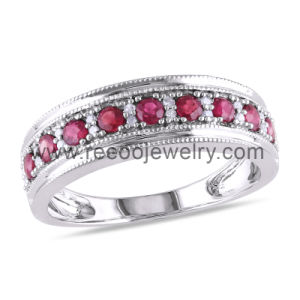 High Quality 925 Silver China CZ Rings for Ladies