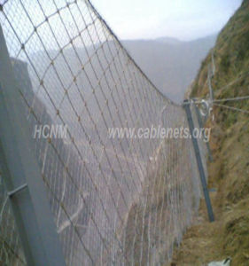 Knot Hand Woven Netting for Rock Fall Slope Protection Mesh pictures & photos