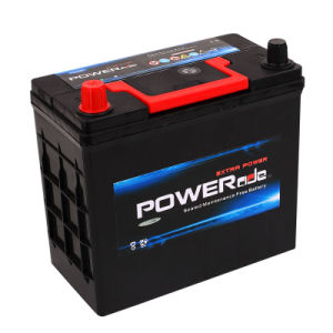 JIS Ns60-12V45ah Maintenance Free Auto Battery with RoHS/CE/Soncap