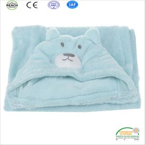 Hot Sell Baby Sleeping Blanket Customer Made Logo pictures & photos